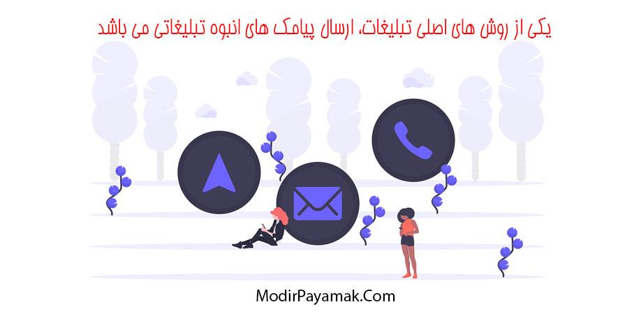 ارسال پیامک بر اساس کدپستی استان کرمان